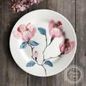 Greengate Frühstücksteller Teller 'Magnolia' white