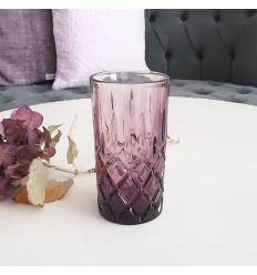 Greengate Wasserglas Trinkglas plum