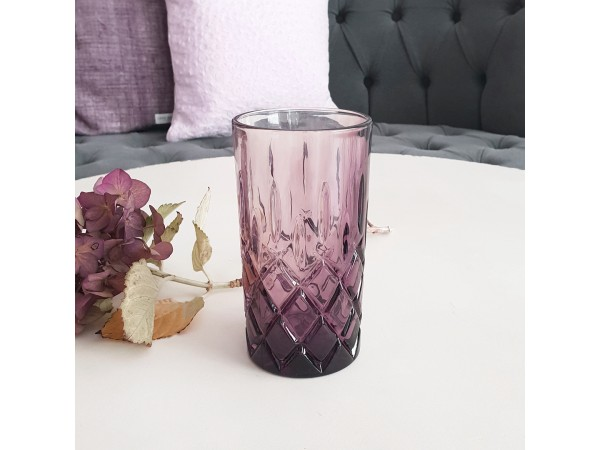 Greengate Wasserglas Trinkglas pale pink