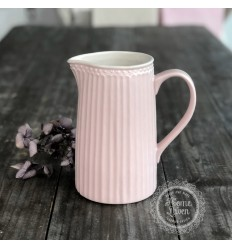 Greengate Milchkanne Wasserkrug 'Alice' pale pink