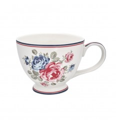 Greengate Teacup Teetasse 'Hailey' white