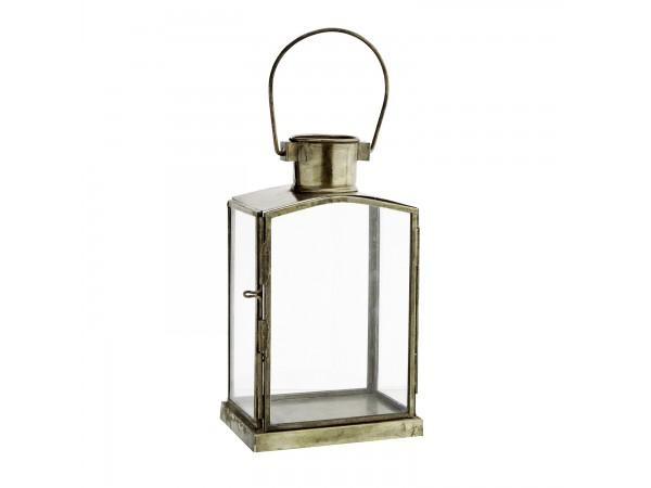 Laterne Kerzenhalter antikmessing