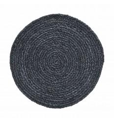 4er Tischset Platzdeckchen 'Circle' graublau