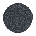 4er Tischset Platzset 'Circle' graublau