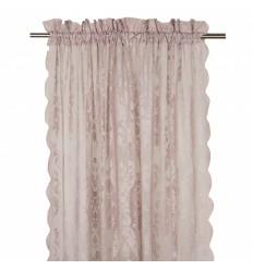 Vorhang / Gardine 'Rosanna' 2er Set altrosa
