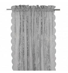 Vorhang / Gardine 'Rosanna' 2er Set grau