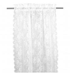 Vorhang / Gardine 'Lucille' 2er Set weiß