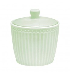 Greengate Zuckerdose 'Alice' pale green