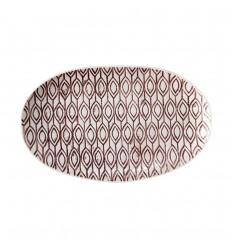 Servierplatte Schale 'Gatherings' 20 x 12,5 cm flieder