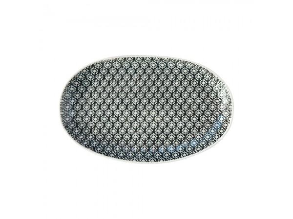 Servierplatte Schale 'Gatherings' 20 x 12,5 cm schwarz