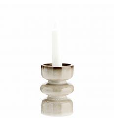 Kerzenhalter 'Boho' beige  H 11 cm