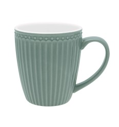 Greengate Becher mit Henkel 'Alice' dusty green