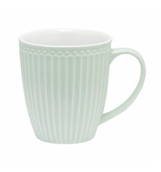 Greengate Becher mit Henkel 'Alice' pale green