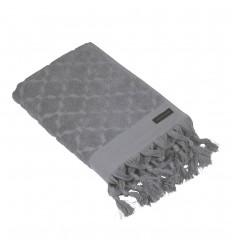 Handtuch 'Miah' 50 x 70 cm dunkelgrau