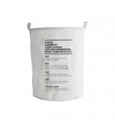 Wäschekorb 'Wash Instructions'