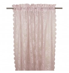 Vorhang / Gardine 'Lucille' 2er Set puderrosa