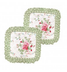 Greengate 2er-Set Topflappen 'Mary white'