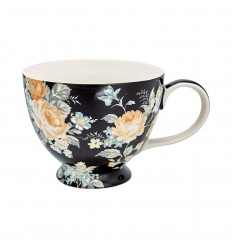 Greengate Teacup Teetasse 'Josephine black'