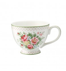 Greengate Teacup Teetasse 'Aurelia white'