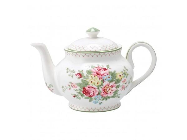 Greengate Teekanne Kaffekanne 'Aurelia white'