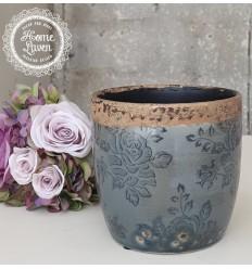Blumentopf Übertopf 'Vinay' groß