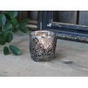 Teelichthalter Silber/ Bauernsilber