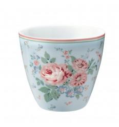 Greengate Latte Cup Becher 'Marley pale blue'