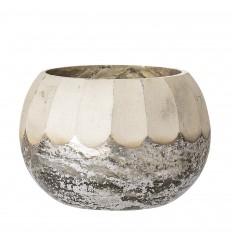 Teelichthalter aus Glas