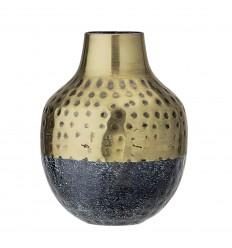 Bloomingville Vase Punkte zweifarbig H 13 cm