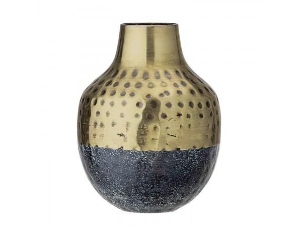 Vase zweifarbig H 13 cm