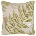 Kissen mit Füllung 'Fern leaf' 50x50
