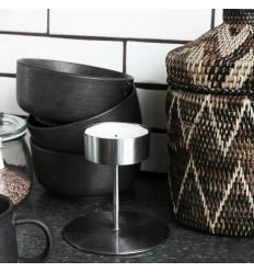 Kerzenhalter Teelichthalter 'Anit' silber