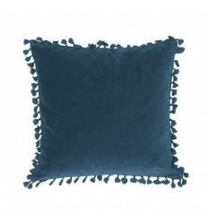 Kissenbezug 'Frans' Samt 45x45 marineblau