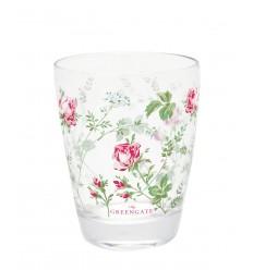 GreenGate Wasserglas Trinkglas 'Constance white'