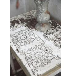 Template Schablone 'Square motif'