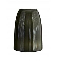 Madam Stoltz Vase aus Glas grün