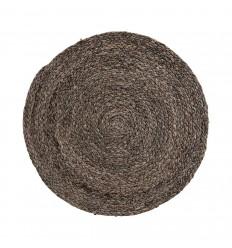 4er Tischset Platzset 'Circle' braun, grau