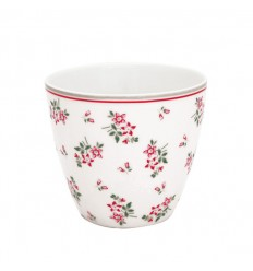 GreenGate Latte Cup Becher 'Avery White'