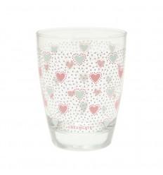 GreenGate Glas Wasserglas 'Penny' white