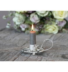 Chic Antique Kerzenhalter Kammerleuchter fil de fer