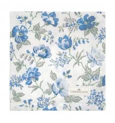 GreenGate Stoffserviette 'Donna' blue