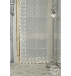 Gardinenschal 2er Set 'Cherie' ecru 130 x 250 cm