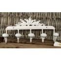 Weiße Hakenleise aus Gusseisen