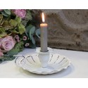 Kerzenhalter Kammerleuchter weiß