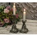Kerzenständer in altsilber