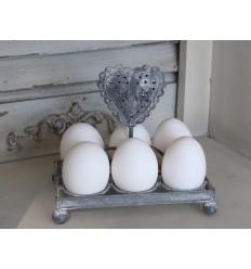 Eierhalter mit Herz