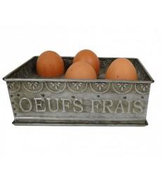 Eierhalter aus Zink