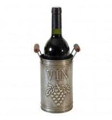 Weinflaschenständer aus Zink 'VIN'