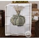 Küchentuch 'Kaktus mit Blume'